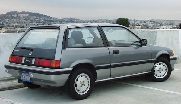 Civic Classic Sedan Black Olx: 1984-1988 Civic 1500S Hatchback