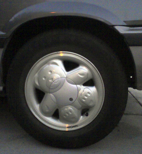 Ronal 'Teddy Bear' wheel - classic!