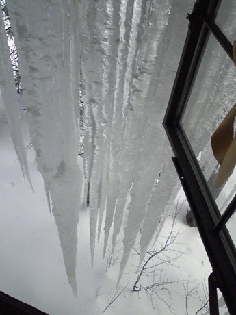 big icicles