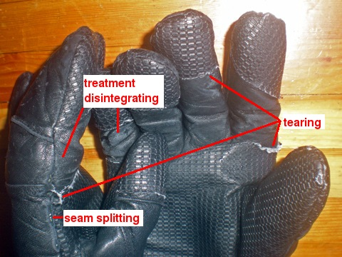 crappy Swany Flexor FX gloves