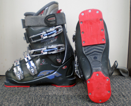Nordica boots with Elite Feet canting shims